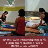 Zen shiatsu, contacto terapeutico